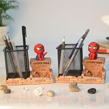Spider Man anime pen container holder