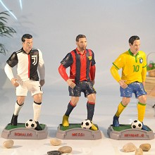 Football star Cristiano Ronaldo Messi Neymar resin...