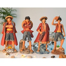 One piece Luffy anime resin figure