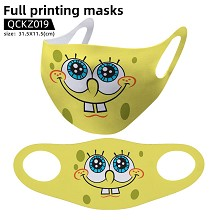 Spongebob anime trendy mask face mask
