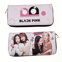 BLACKPINK star long wallet
