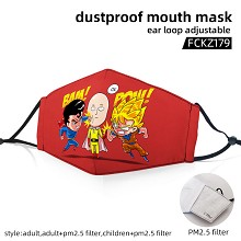 One Punch Man anime dustproof mouth mask trendy ma...