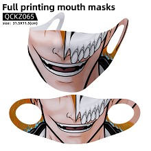 Bleach anime trendy mask face mask