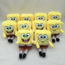 5inches Spongebob anime plush dolls set(10pcs a se...