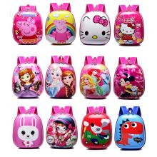 Peppa Pig Hello Kitty Mikey Frozen anime hard shell backpack bag