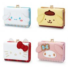 Melody Purin Cinnamoroll KT anime wallet coin purs...