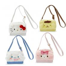 Melody Purin Cinnamoroll KT anime satchel shoulder...