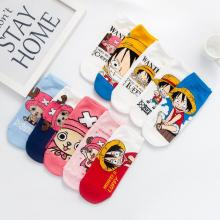 One Piece anime cotton socks a pair