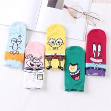 Spongebob anime cotton socks a pair