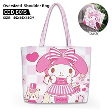 My Melody anime oversized shoulder bag