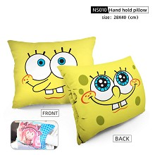 Spongebob anime hand hold pillow